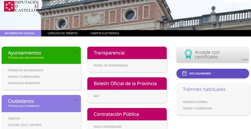 La Diputación de Castellón es una de las administraciones españolas inmersas en el plan de la Agencia INEA de Identidad Digital Europea.