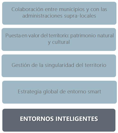 Figura 3. Claves para el desarrollo de entornos rurales e insulares inteligentes.
