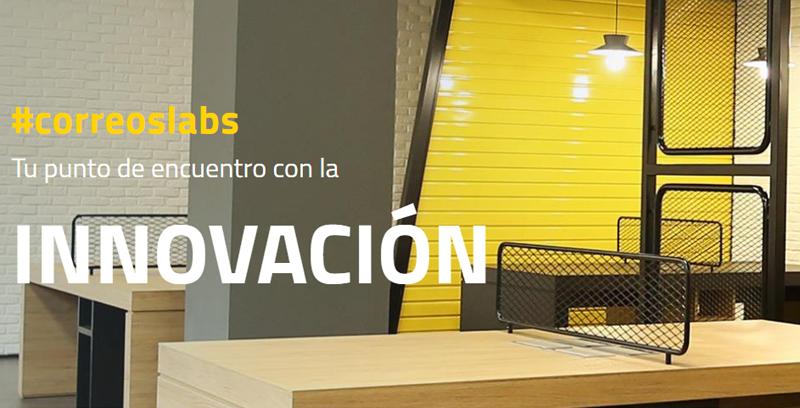 CorreosLabs es un laboratorio multidisciplinar de Correos para acelerar proyectos de emprendimiento innovadores.