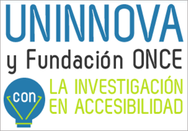 Los II Premios Uninnova que convoca la Fundación ONCE busca proyectos innovadores sobre Accesibilidad.