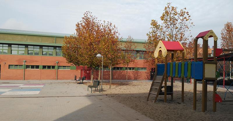 Colegio de educación primaria de Rivas Vaciamadrid donde se desarrolló uno de los pilotos de iWESLA.