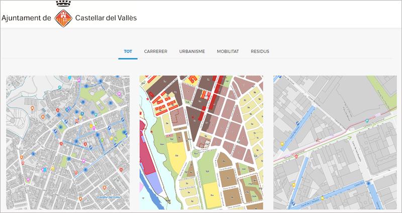 Castellar Del Valles Mapa.Castellar Del Valles Activa Su Geoportal Con Informacion