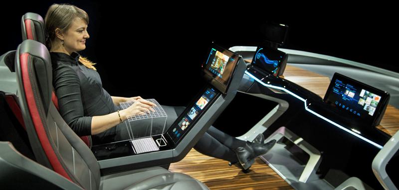 La propuesta de coche conectado de Bosch en el MWC incluye reconocimiento facial del conductor.
