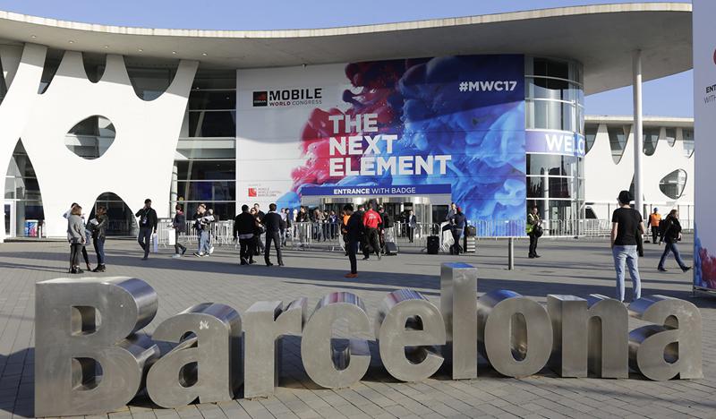 Las instalaciones de Fira Barcelona recibieron a más de 100.000 asistentes al Mobile World Congress 2017.
