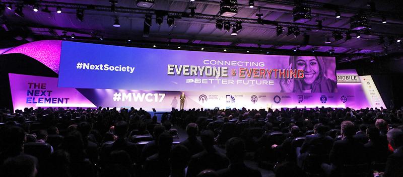 El lema del Mobile World Congress de este año fue 'El próximo elemento'.