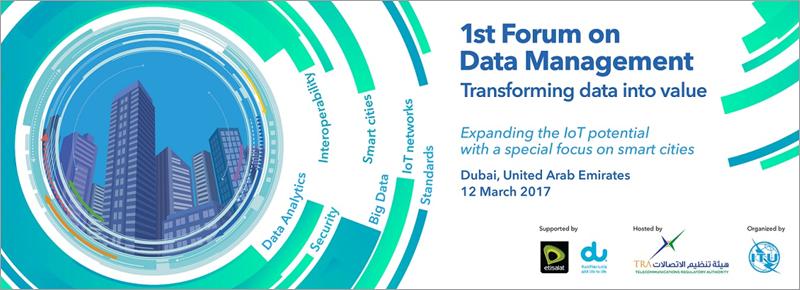 La creación del grupo de trabajo sobre datos en la Smart City se decidió durante las actividades desarrolladas en el marco del foro del Grupo de Estudio 20 Unión Internacional de Telecomunicaciones-T celebrado en Dubai.