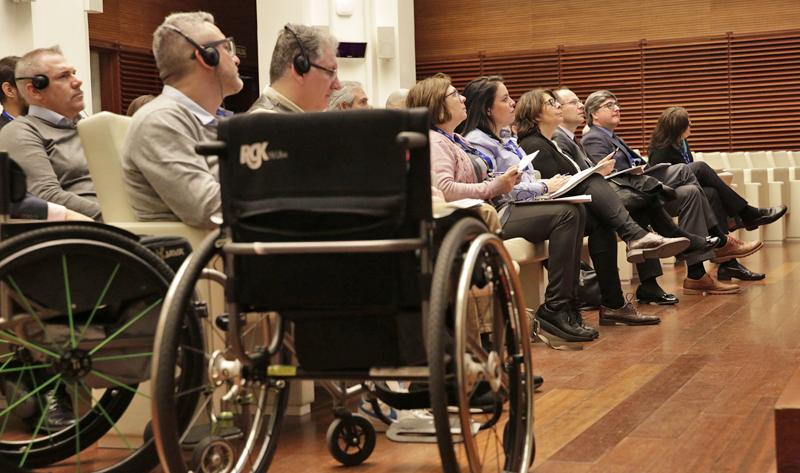 Presentación de conclusiones del Proyecto SIMON sobre movilidad accesible en Madrid.