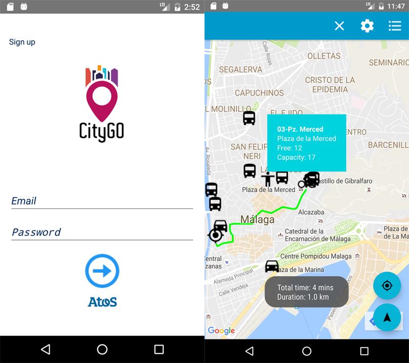 La aplicación ofrece a los usuarios todo tipo de información sobre transportes públicos de Málaga e itinerarios óptimos para cualquier trayecto por la ciudad.