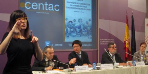 Presentación de resultados del Informe sobre compras TIC Accesibles en la Contratación Pública en España