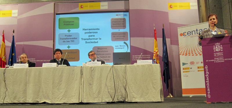 """Para la autora del informe de CENTAC, Rosa Mª Tejerina, las TIC accesibles son una """"herramienta poderosa para transformar la sociedad""""."""