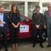 Vehículos eléctricos para el Congreso Internacional de Cambio Climático de Huelva