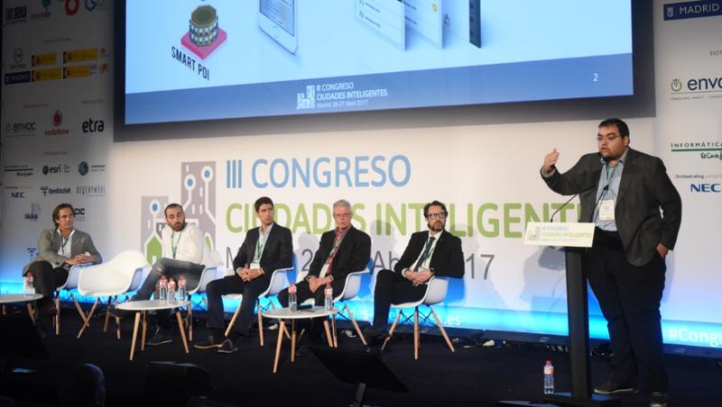 Antonio J. Jara, CEO de Hop Ubiquitous, habló sobre el proyecto SIIDI, una aplicación de participación ciudadana.