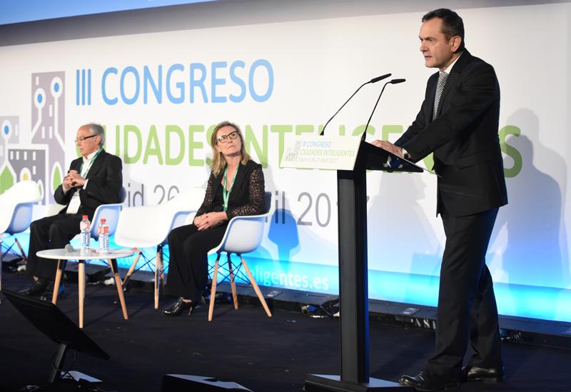 José Manuel Leceta, Director General de Red.es, durante su discurso de clausura.
