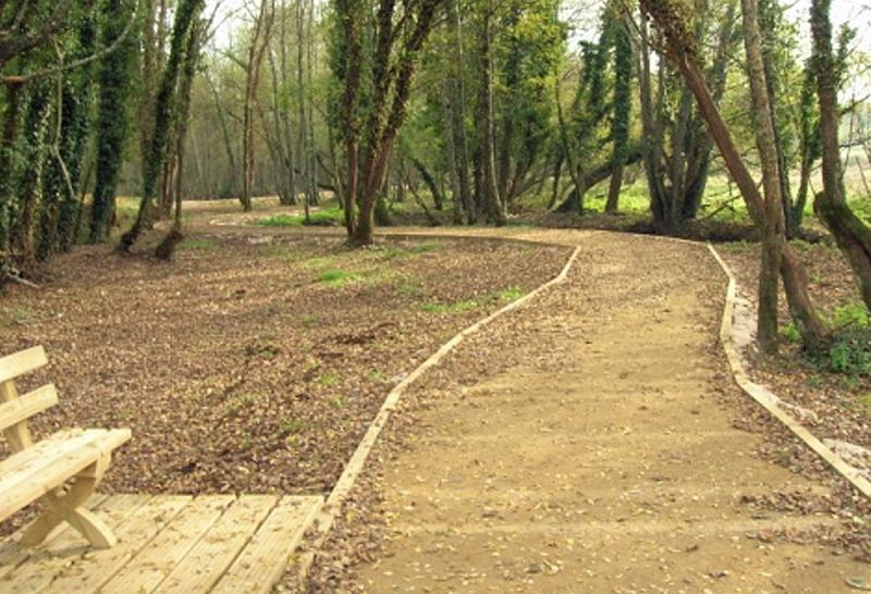 Figura 5. Paseo fluvial del Carregal.