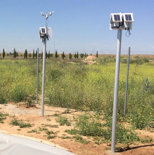 Plataformas de sensores de Libelium para la monitorización de los procesos de tratamiento de las aguas.