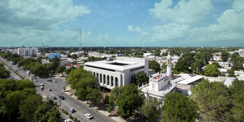 El Ayuntamiento de Mérida ha firmado un convenio con Ikusi para implantar la plataforma de gestión urbana Spider.