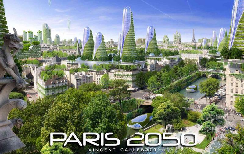 'París Smart City 2050' da prioridad a la construcción de edificios bioclimáticos y autosuficentes, incluso, edificios de energía positiva, capaces de generar más energía de la que consumen.