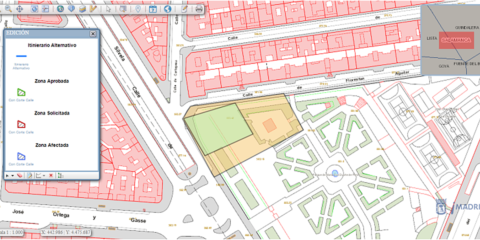 Ocupación en vía pública para la Accesibilidad y Movilidad Inteligente de la ciudad