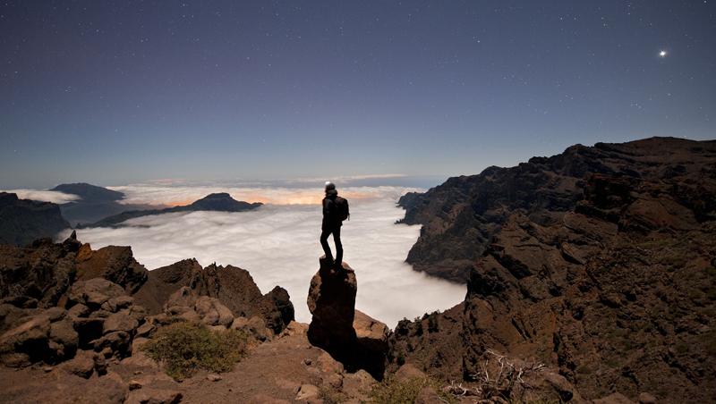 La astronomía es uno de los atractivos de La Palma, que cuenta con el Observatorio de Roque de los Muchachos en su territorio.