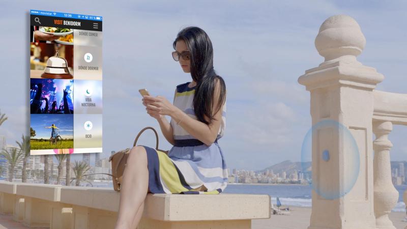 La App móvil VisitBenidorm ofrece información de interés a los turistas.