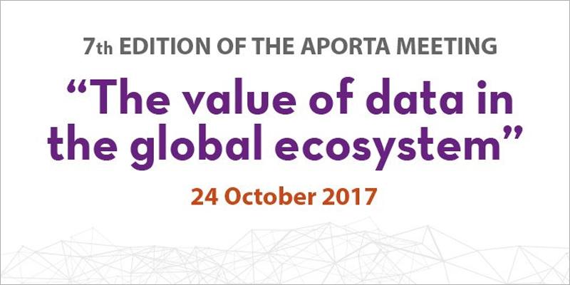 El Encuentro Aporta se desarrollará entre las 9:30 y las 17:30 del 24 de octubre con la participación de expertos que tratarán el estado actual de los datos abiertos y su reutilización en la administración pública.