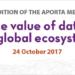 El 7º Encuentro Aporta abordará el valor de los datos abiertos y su reutilización en el ecosistema global