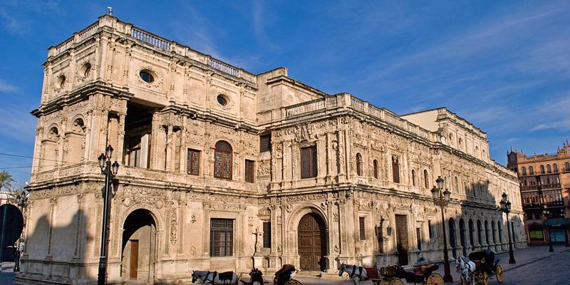 El Ayuntamiento de Sevilla está desplegando los nuevos puntos de acceso wifi en distintas dependencias de la ciudad.