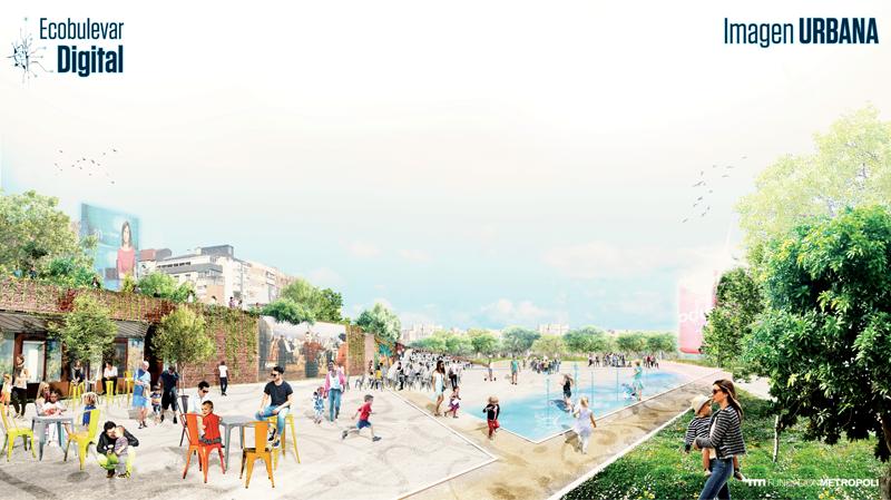 El proyecto recuperará el Bulevar Salvador Allende como un espacio integrador y de conexión entre lugares de residencia y trabajo.