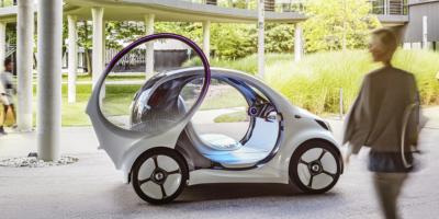Un nuevo concepto de carsharing eléctrico: inteligente, conectado y sin volante