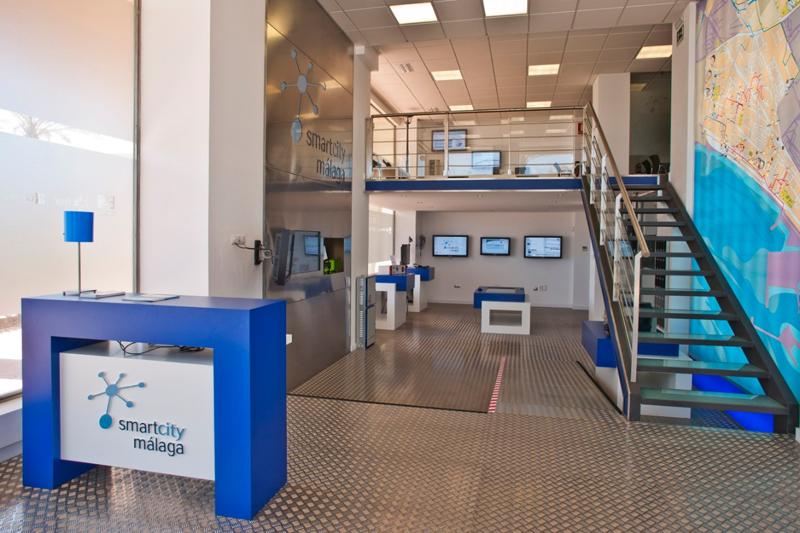 Espacio del proyecto Smart City Málaga de Endesa, la primera eléctrica que obtiene la certificación como Living Lab de la Red Europea ENoll.