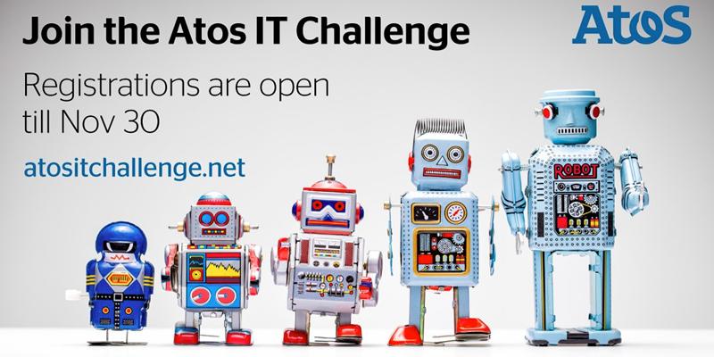 Los Chatbots y la Inteligencia Artificial protagonizan el Atos IT Challenge 2018, abierto a estudiantes de todo el mundo.
