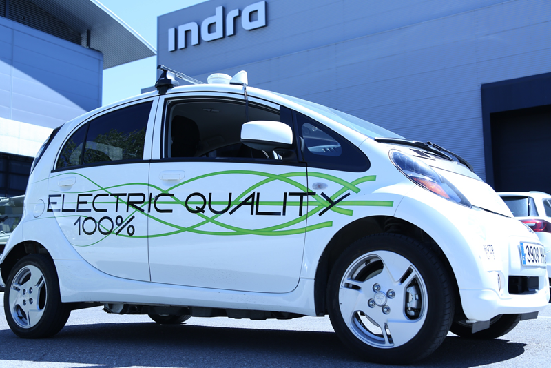 Uno de los coches que se utilizarán en las pruebas de Autocits, 100% eléctrico.