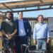 Bicicletas eléctricas con energía solar circulan ya en Valencia