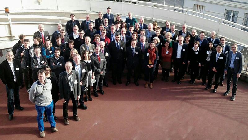 El proyecto mySMARTLife está formado por 28 socios de siete países y 15 entidades afiliadas.