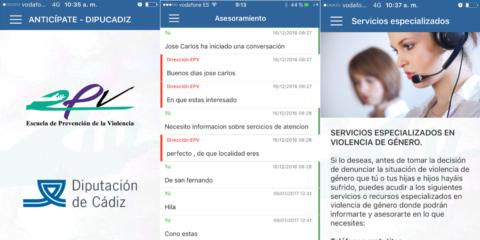 App Anticípate: nuevas líneas con base tecnológica de asesoramiento, prevención, formación y protección ante la violencia de género