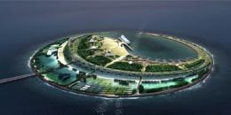 """Experiencias en el diseño de la Isla Smart y Ecológica Perla del Mar del Sur (""""South Sea Pearl Eco Island""""), Haikou / Hainan, China"""
