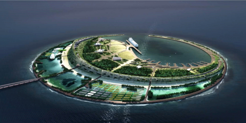 Experiencias en el diseño de la Isla Smart y Ecológica Perla del Mar del Sur («South Sea Pearl Eco Island»), Haikou / Hainan, China