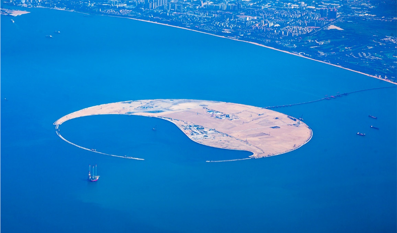 Figura 1. Isla Perla del Mar del Sur, Hainan / China – Agosto 2016.