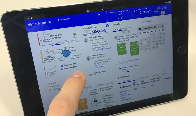 City Landscape Manager es un centro virtual de gestión integral para la ciudad inteligente que, actualmente, está implantándose en el Ayuntamiento de Logroño.