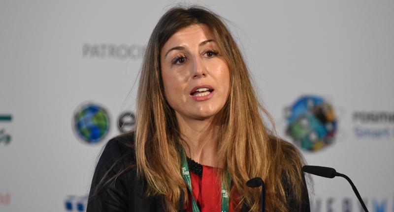 Lola Ortiz, Subdirectora General de Desarrollo urbano de la Direccción General de Fondos Europeos de Ministerio de Hacienda y Función Pública.