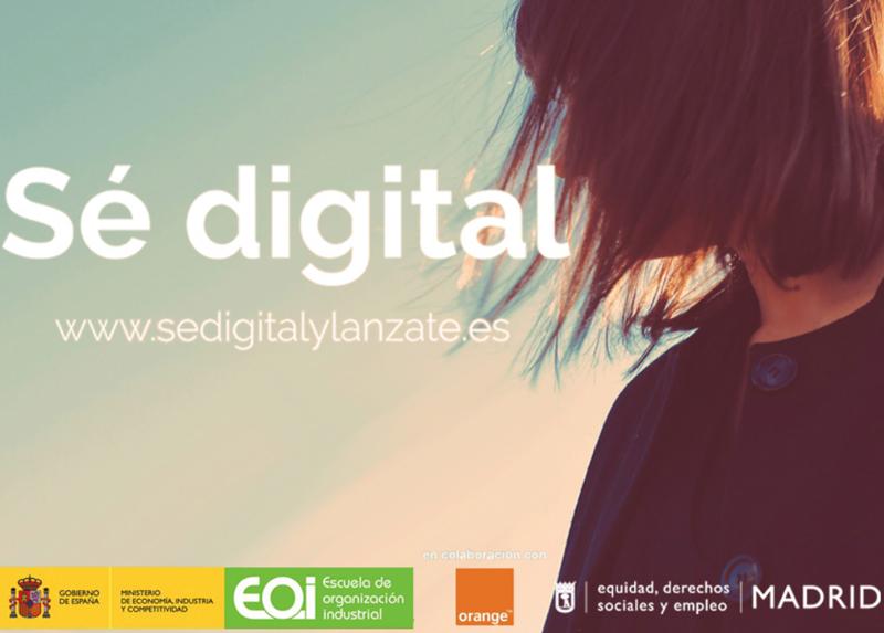 Todas las personas interesadas pueden inscribirse al programa de formación online gratuita 'Sé Digital' para mejorar sus capacidades en torno a la Economía Digital.