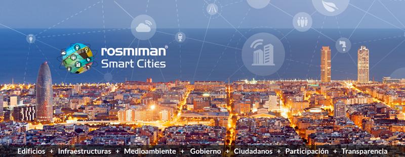 El Ayuntamiento de Barcelona ha adoptado la plataforma de ciudad inteligente de Rosmiman.