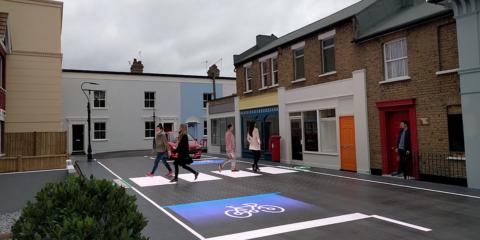 Un paso de cebra inteligente que se adapta en tiempo real a los peatones