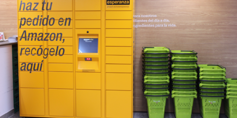Amazon instala taquillas automáticas en 30 ciudades españolas para recoger las compras online