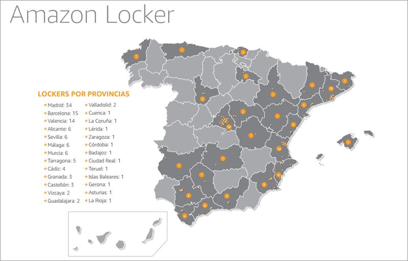 En total hay 120 puntos de taquillas automáticas repartidos en 30 ciudades españolas.