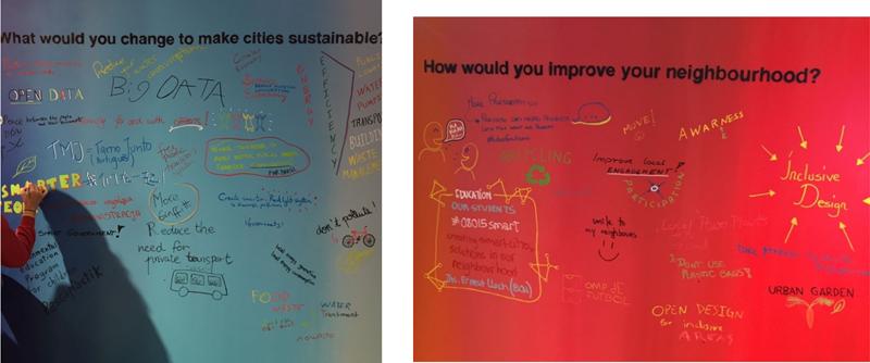 Figura 4. Qué cambiarías para ser ciudad sostenible. Figura 5. Cómo mejorarías tu barrio.