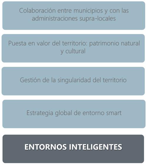 Figura 7. Claves para el desarrollo de entornos rurales e insulares inteligentes.