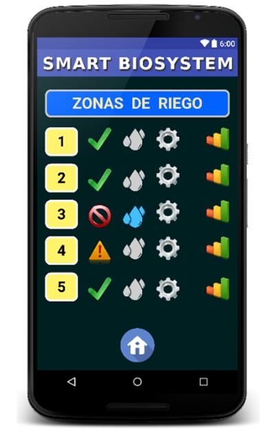 Figura 7. Aplicación móvil.