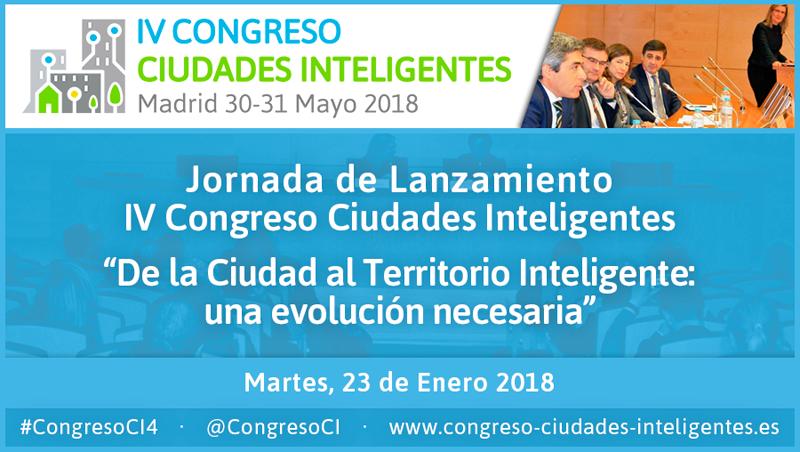 El salón de actos de SESIAD acoge la Jornada de Lanzamiento del IV Congreso Ciudades Inteligentes, gratuita y abierta a todos los interesados previa inscripción online.