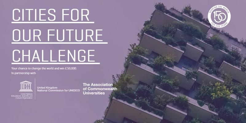 El concurso internacional 'Cities for our Future' está abierto a la presentación de soluciones hasta el 31 de mayo.